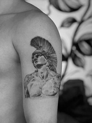 Greek Mthology #greek #mythology #blackandgrey #realistic #arm