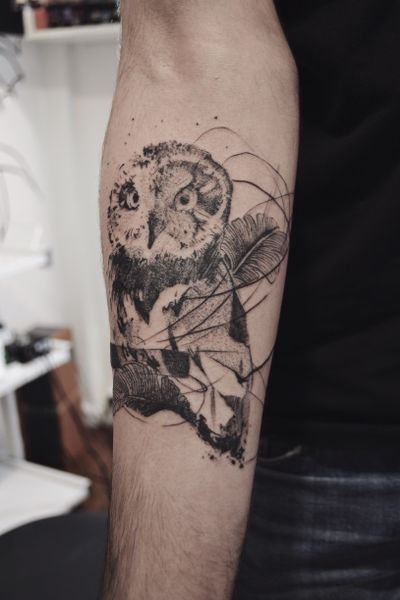 Done in Buenos Aires #danilodelfino #owl #buenosaires