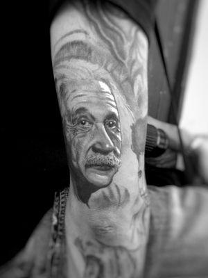 Rioger tattoo #art #tattooartist #blackandgrey #Black #portraittattoos