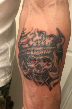 #skull #war #warrior
