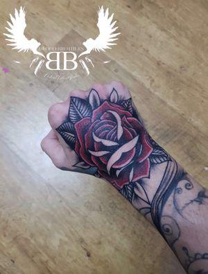 Custom Rose Designed and Tattooed by myself