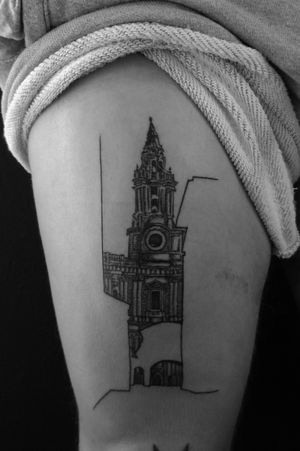 #architecturetattoo #architecturetattoos #buildingtattoo #building #churchtattoo #tattoo #tattooart #minimal #minimaltattoo #minimalistic #minimalistictattoo #architecture #architecturelovers #design #designer #bishop #bishoprotary
