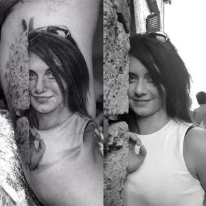 Rioger tattoo #art #tattooartist #blackandgrey #Black #portraittattoos #realistic #realism