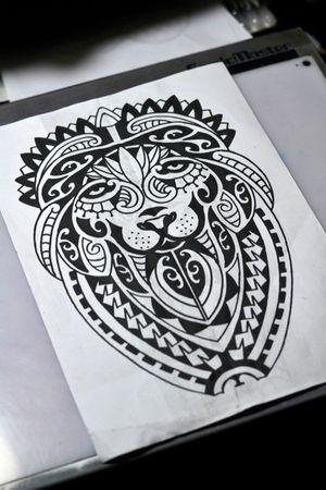 #lion #maori #tattoosketch #thiagopadovani
