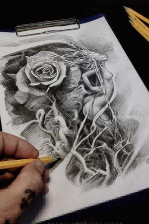 #sketch from new sleeve #sergiosabioart #sergiosabiotattoos