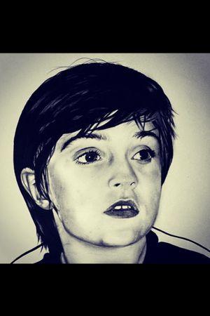 Portrait using pencil on a3 bristol smooth