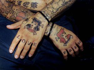 Mike Ness - Photograph by Elvia Iannaccone Gezlev #ElviaIannacconeGezlev #tattooculture #tattoocommunity