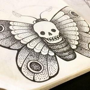 Mariposa da Morte - flash disponível