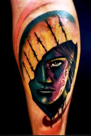 #face #girl #realistictattoo #blackangrey #color #fkirons #tattoo #tattooink #pomezia #roma #tattoolove #tattoolife #ink #inked #switzerland #inkworld #zurich #inkmania #inkmaniatattooconvention #lovemyjo #tattootime #tattoopeople #inkboy #photooftheday #worldfamousink #tattoopeople #tattoo2me