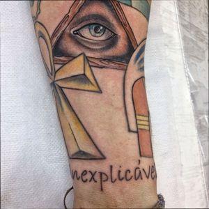 To de olho em você! 👁 #Tattoo #Olho #Egypt #Bruxaria #ShapeInexplicável #resPeito