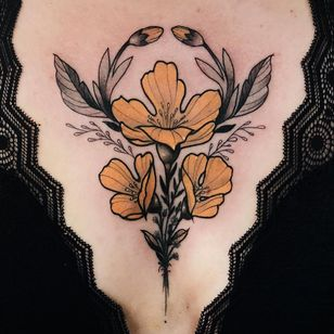 Tattoo by Jen Tonic #JenTonic #NeoTraditionalTattoo #neotraditional #neotrad #artnouveau #artdeco