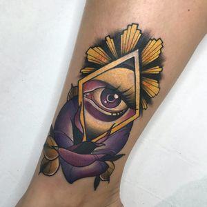 Tattoo by Deborah Cherrys #DeborahCherrys #NeoTraditionalTattoo #neotraditional #neotrad #artnouveau #artdeco