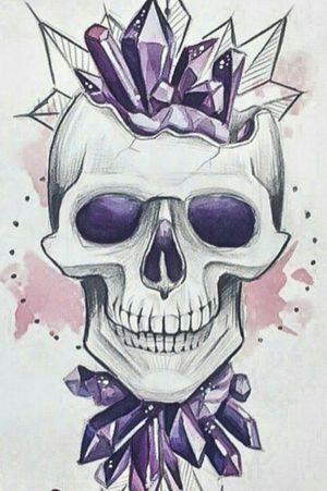 #skitze #schädel #kristale #stencil #germantattooers #frau #inkgirl #inked #tattooedwoman #tattooedgirl #tattooed #tattoist #inkgirl #follow #followforfollow