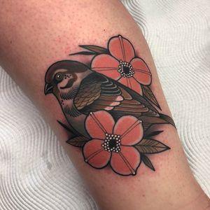 Tattoo by Heath Clifford #HeathClifford #NeoTraditionalTattoo #neotraditional #neotrad #artnouveau #artdeco