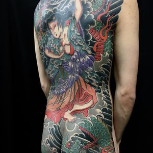 Tattoo by Yutaro #Yutaro #japanesetattoos #japanese #irezumi #tebori