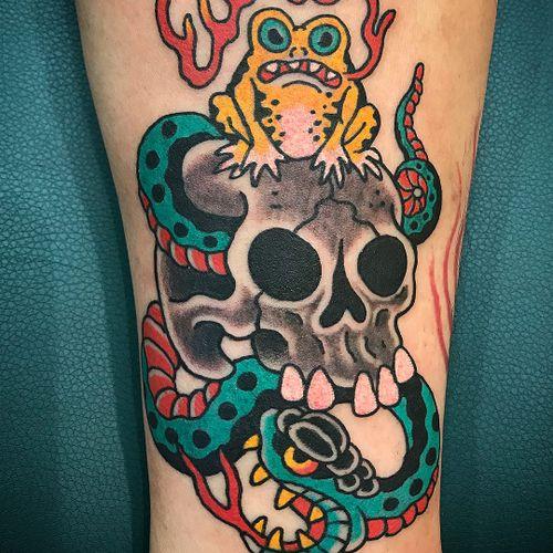 Tattoo by Kiku #Kiku #japanesetattoos #japanese #irezumi #tebori