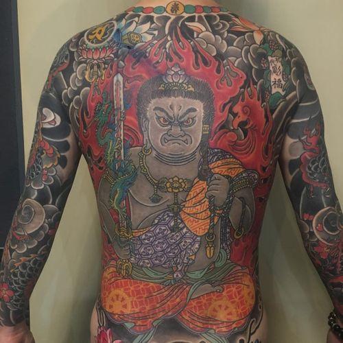 Tattoo by Horitomi #Horitomo #japanesetattoos #japanese #irezumi #tebori
