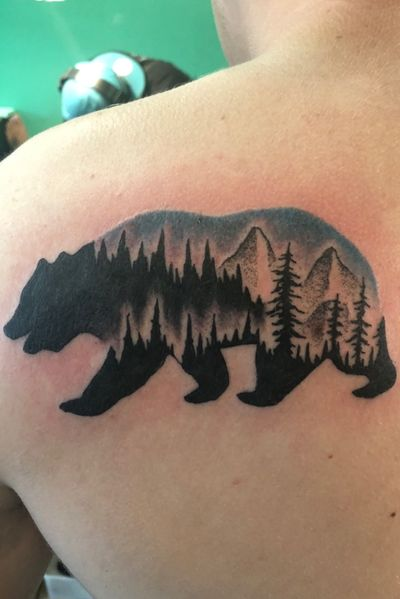 #bear #landscape