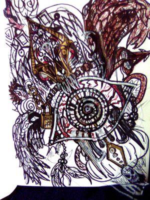 #Angelwings #eyeball