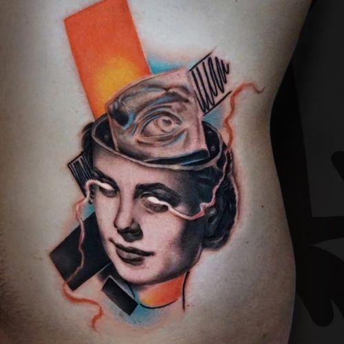 Inspired by Kandinsky art. ____________________ jaer.booking@gmail.com ____________________ #tattooart #tattoo #tattoodo #avantgardetattoo #jaer #jaertattoo