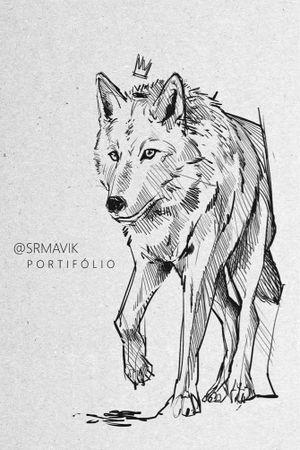 Arte para tatuar | Lobo encomendas por e-mail. Mais trabalhos no instagram @srmavik #lobo #wolftattoo