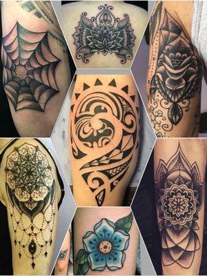 #Mandala #mandalatattoo #maori #maoritattoi #polynesyiantattoo #blackwork #tattoo #mariorottweilertattoos #basel #baseltattoo
