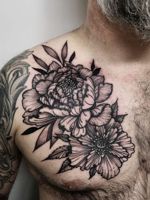 Instagram: @olga_tattoos E-mail: Olgamdtattoos@gmail.com  #peonies#peonytattoo #chesttattoo #flowers#flowertattoo #london#londontattoos#shoreditch#customdesign#customtattoos#bw#blackink#blscktattoos#tattoo#tattoos#tattooed#tattooers#blackwork#blackink#blackworkers#blackworkers_tattoo#ttt#tttism#ldnttt#london#ink#londontattoos#uktattooers#blacktattoos#blackandgrey#blackandgreytattoos#realistictattoo#art#blackandgreytattoos#posTTT#loveiTTT