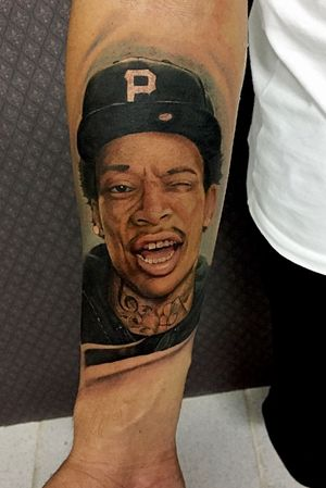 Tattoo Realismo colorido.