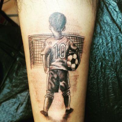 #tattooart #Football #child
