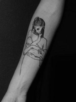 #picasso #picassodrawing #drawing #art #arte #mother #motherandbaby #motherandchild #study #tattoo #tattooart #bishop #bishoprotary #ink #inkedgirl #girlwithtattoo #picassotattoo #pablopicasso #tattooideas #inkspiration #stattoo #mininal #minimaltattoo #figurative #figurativework #linework