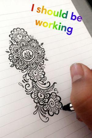 Mehndi tatto art #mehndi #hennatattoo