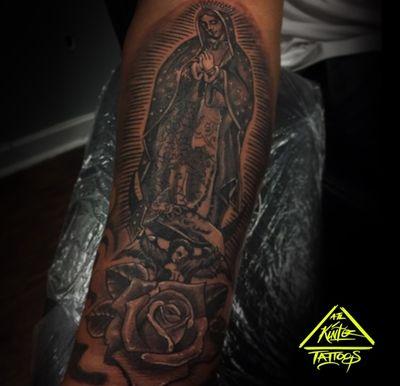 Virgin Mary Tattoo #atlanta #atl #tattoo #tattoos #blackandgreytattoo #blackandgreytattoos #ink #atlantatattoos #atlantatattoo #tattooed #tattoosforgirls #tattoolife #chicano #mexican #clown #tattooartist #tattooart #tattooapprentice #tattooshop #singleneedle #blackandgrey #ink #girl