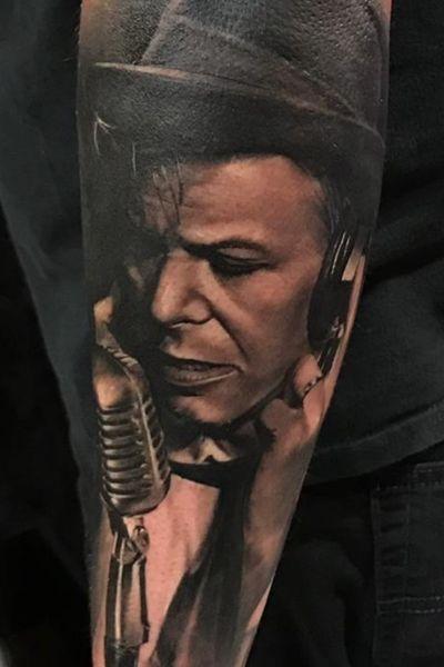David Bowie #davidbowie #blackandgrey #realism