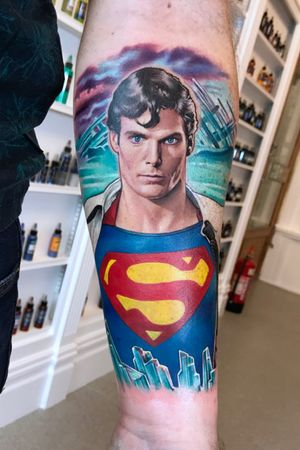 The incredible Christopher Reeve as Superman