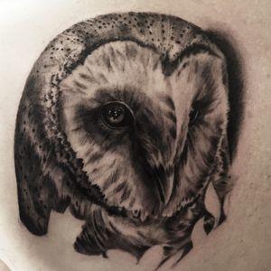 #kwadroncartridges #inkjecta #silverbackink #ink #inkstagram #hannover #braunschweig #blackandgreyrealism #portraittattoo #realism #realistic #owl #owltattoo