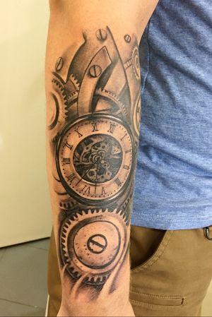 Tattoo black and gray!
