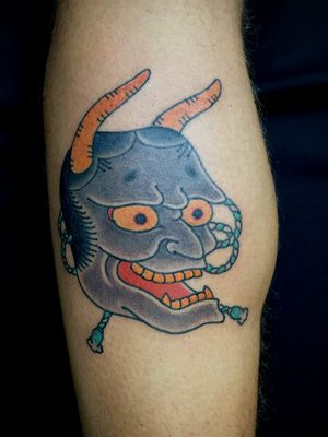 Tattoo by Ichi Hatano of Ichi Tattoo Tokyo #IchiHatano #IchiTattooTokyo #Japanese #Irezumi #horimono #Tokyo #Japan #Hannya #mask