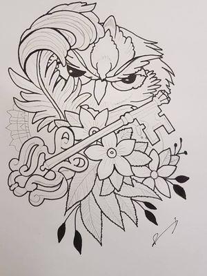 #owl #sketch #sketchstyle #drawings