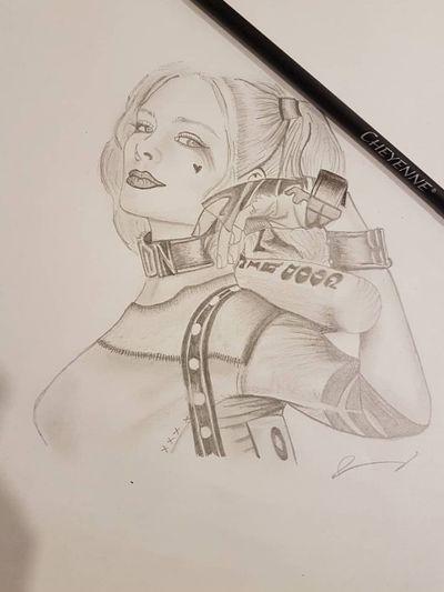 #harleyquinn #sketch #sketchstyle #drawings