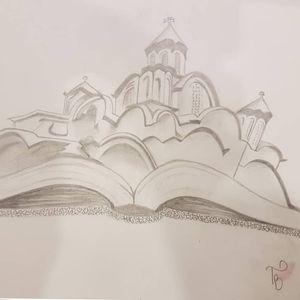 #book #church #sketch #sketchstyle #drawings