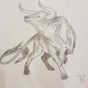 #bull #bullsketch #sketch #sketchstyle #drawings