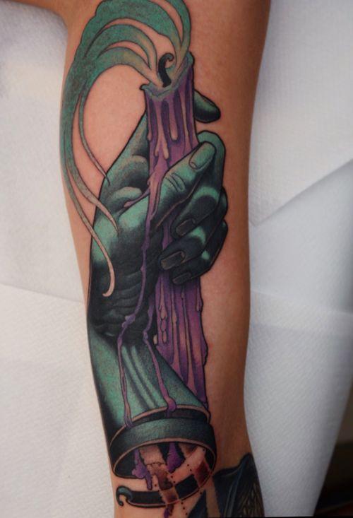 Patrick Swayze hand!