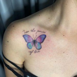 #butterfly #fineline #tracosfinos #color #coloridas