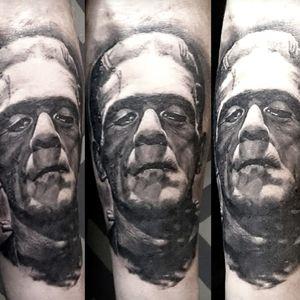 Frankenstein's monster, Boris Karloff www.alolocotattoo.com