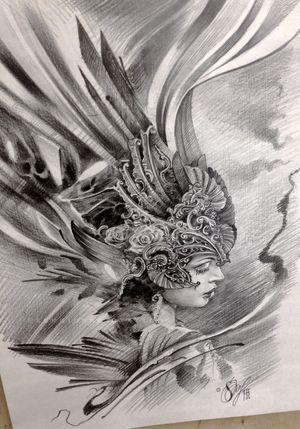 Sketch Valkiriya #sketch #drowning