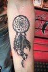 DreamCatcher' by FerryBoom #BoomInk #cooltattoos #coolpeople #notmydesign #yesmytattooart #sweetmeaning #specialmeaning #folowme #tattoooftheday