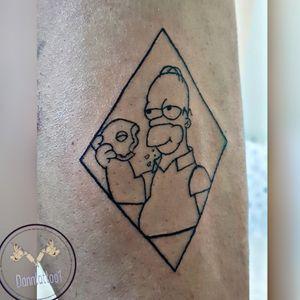 #homersimpson #homerosimpson #homersimpsontattoo #tattoo #tatuaje