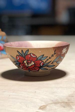 Cedar stormwood rose bowl 100% Organic Penny🖤