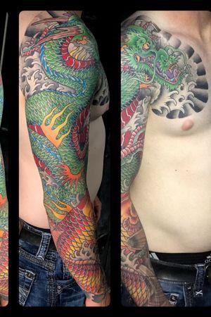 Tattoo by davis street tattoo