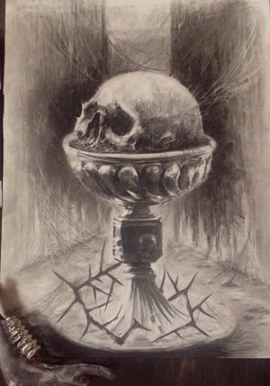 #scetch #skull #